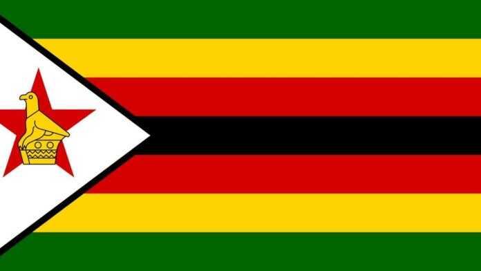 gran bandera de zimbabwe