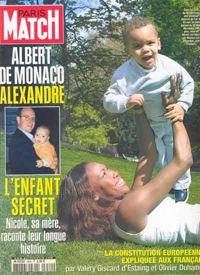 La couverture du Paris Match