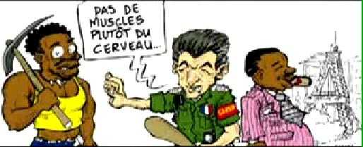 Nicolas Sarkozy en militaire rejette le