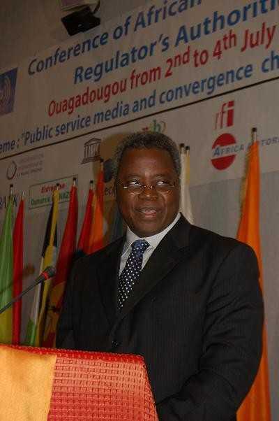 Discours d'ouverture du 1er Ministre T. Zongo