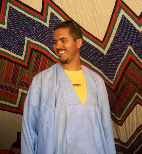 Kadi Mehdi, directeur général du réceptif Mauritanides
