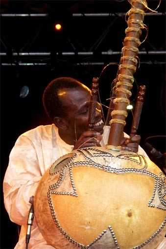 Ballaké Sissoko à la kora