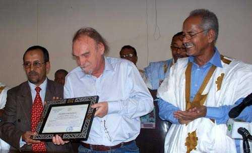 Maurice Freund fait citoyen d'honneur d'Atar