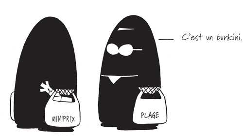 Burqa fashionista, Peter de Wit
