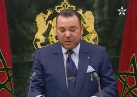 Le roi Mohamed VI en novembre 2009 (copie d'écran via Demainonline)