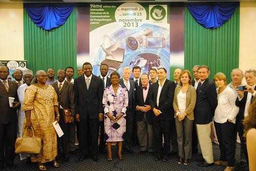 Les participants aux 9èmes UACO à Ouagadougou