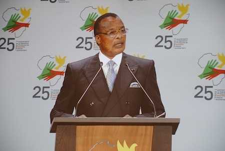 Le Président Denis Sassou Nguesso