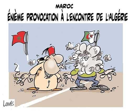 La provocation par la drogue. Djamel Lounis. Algérie. 2014