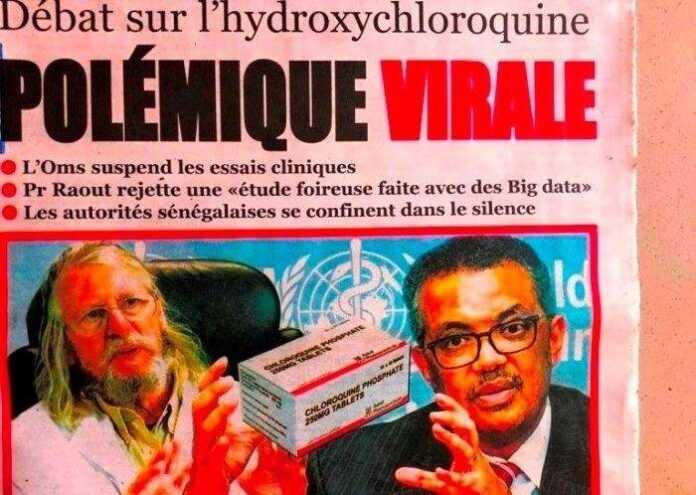 Sénégal, Chloroquine et Coronavirus : Raoult, Seydi et OMS à la Une… polémique