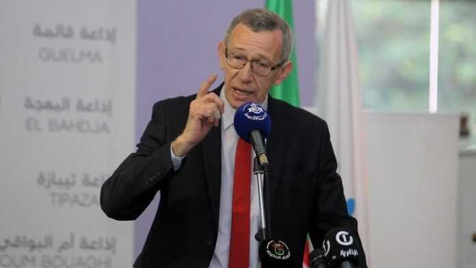 Ammar Belhimer, Ministro de Comunicación de Argelia