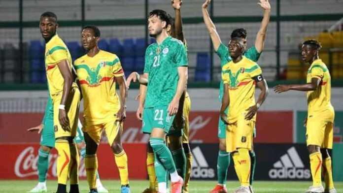 Argelia vs Mali